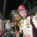 NASCAR - Daytona 2018 - Erik Jones en el Victory Lane