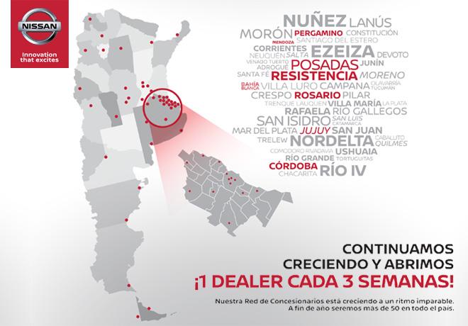 Nissan - 1 dealer cada 3 semanas
