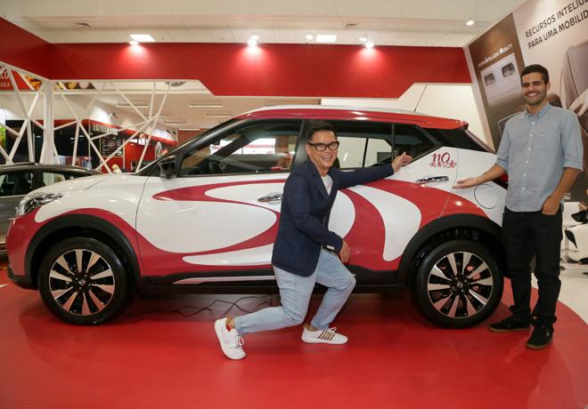 Nissan presento el showcar del crossover Kicks en homenaje a los 110 anios de la inmigracion japonesa 2