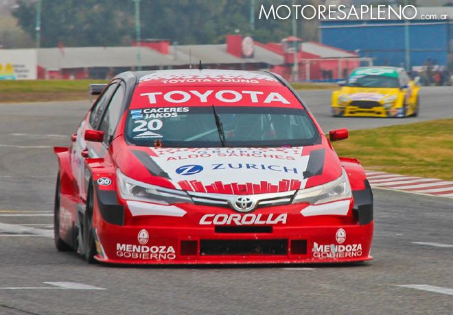 TC2000 - Buenos Aires 2018 - Carrera - Andres Jakos - Emmanuel Caceres - Toyota Corolla