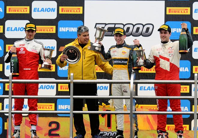 TC2000 - La Plata 2018 - Carrera - Jose Manuel Sapag - Martin Chialvo - Juan Jose Garriz en el Podio