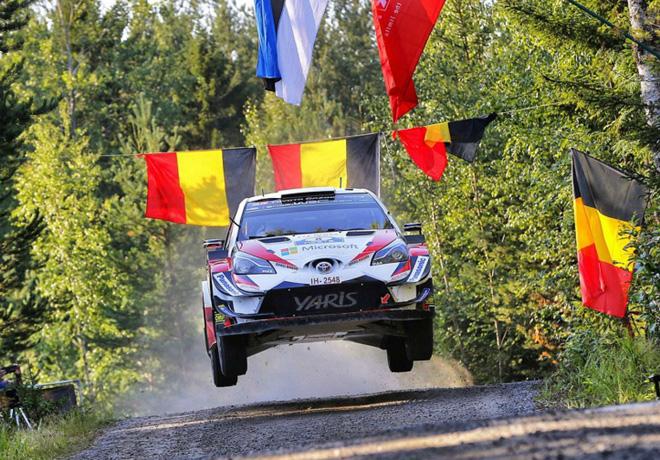WRC - Finlandia 2018 - Dia 1 - Ott Tanak - Toyota Yaris WRC