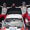 WRC - Finlandia 2018 - Final - Ott Tanak en el Podio
