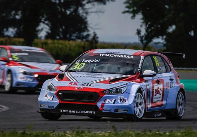 WTCR - Eslovaquia 2018 - Carrera 2 - Gabriele Tarquini - Hyundai i30 N TCR