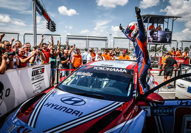 WTCR - Eslovaquia 2018 - Carrera 3 - Norbert Michelisz - Hyundai i30 N TCR