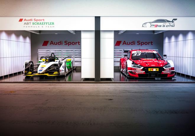 Audi se proyecta hacia el futuro con la Formula E y el DTM