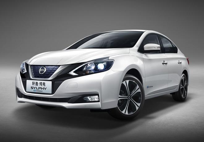 Dongfeng Nissan inicia la produccion del auto electrico cero emisiones Sylphy 2