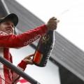 F1 - Belgica 2018 - Carrera - Sebastian Vettel en el Podio
