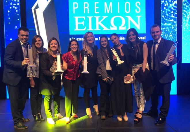 FCA gano cinco premios Eikon a la comunicacion