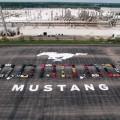 Ford celebra la produccion de su Mustang Numero 10 Millones