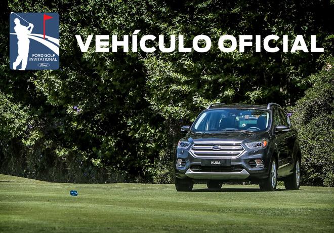 El Kuga es el vehículo oficial del Ford Golf Invitational 2018.