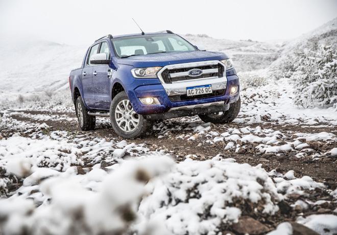 La nieve recibe al Ranger Experience