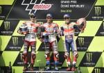 MotoGP - Brno 2018 - Jorge Lorenzo - Marc Marquez - Andrea Dovizioso en el Podio