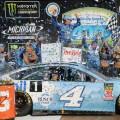 NASCAR - Michigan 2018 - Kevin Harvick en el Victory Lane