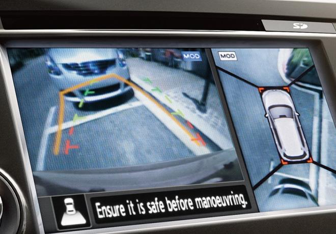 Nissan Intelligent Around View Monitor