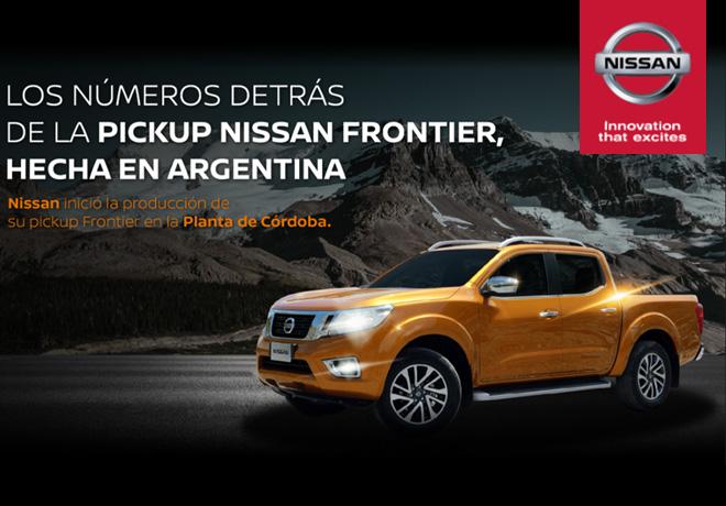 Nissan - Los numeros de la Frontier hecha en Argentina