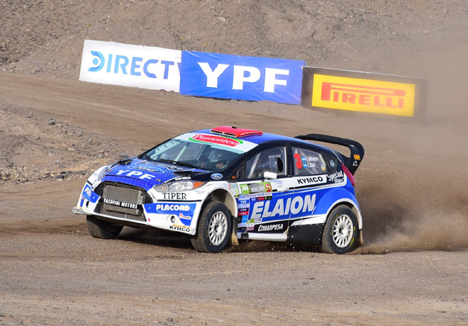 Rally Argentino - General Roca 2018 - Etapa 1 - Federico Villagra - Ford Fiesta MR