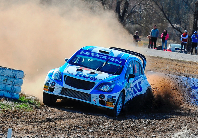 Rally Argentino - General Roca 2018 - Final - Alejandro Cancio - Chevrolet Agile MR