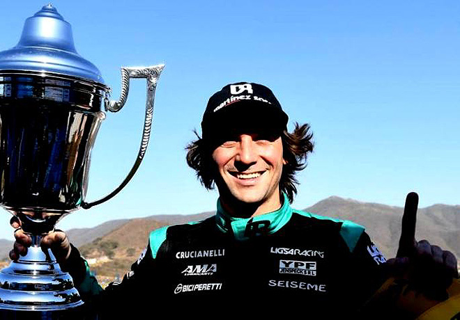 Top Race - Salta 2018 - Carrera 1 - Juan Bautista De Benedictis en el Podio