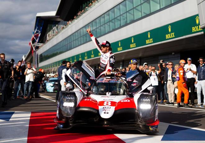 WEC - 6 hs de Silverstone 2018 - Sebastien Buemi - Fernando Alonso - Kazuki Nakajima - Toyota TS050 Hybrid