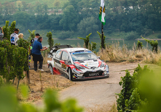 WRC - Alemania 2018 - Dia 1 - Ott Tanak - Toyota Yaris WRC