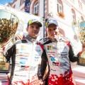 WRC - Alemania 2018 - Final - Martin Jarveoja y Ott Tanak en el Podio