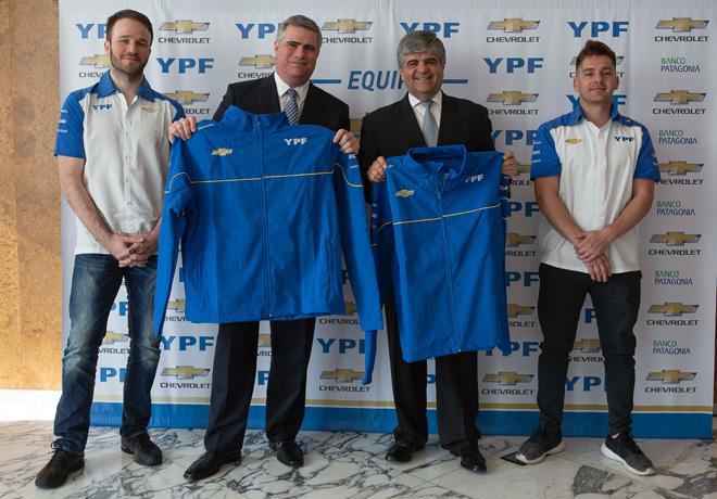 YPF y Chevrolet renuevan su alianza hasta diciembre de 2019