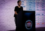 Andrea Fumuso - Brand Manager FCA Argentina - en la presentacion del Nuevo Fiat Uno Way