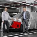Audi comienza con la produccion de e-tron