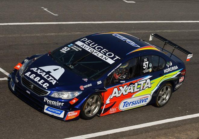 Axalta estreno colores en el equipo Peugeot DTA Racing de TC2000