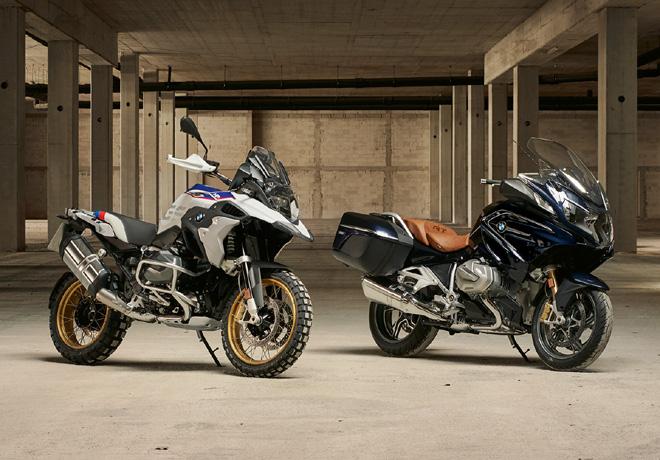 La nueva BMW R 1250 GS y la nueva BMW R 1250 RT: la fascinación por viajar en una nueva dimensión de potencia del motor.