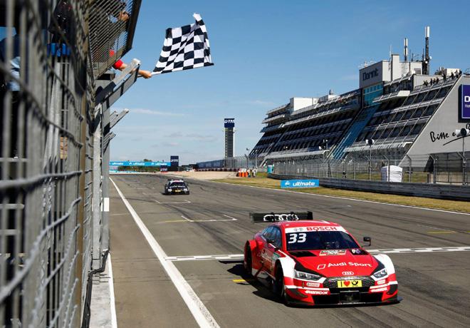 DTM - Nurburgring 2018 - Carrera 2 - Rene Rast - Audi RS 5 DTM