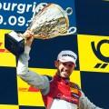 DTM - Nurburgring 2018 - Carrera 2 - Rene Rast en el Podio
