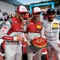 DTM - Spielberg 2018 - Carrera 2 - Nico Muller - Rene Rast - Gary Paffett en el Podio