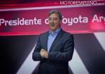 Daniel Herrero en la Presentacion del nuevo Toyota Yaris