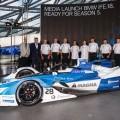 El BMW iFE.18 listo para la quinta temporada de la Formula E 1
