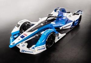 El BMW iFE.18 listo para la quinta temporada de la Formula E 2