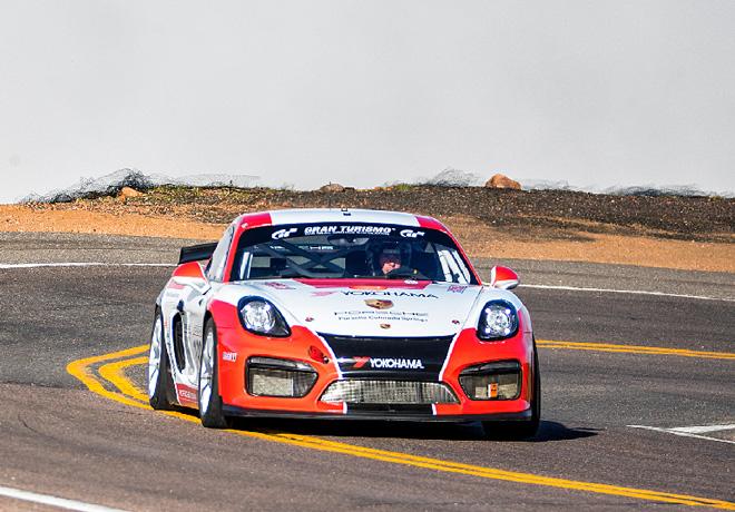 El Cayman GT4 Clubsport conquista la cima al Pikes Peak 1