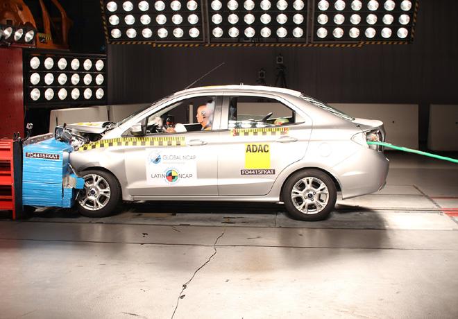 El Nuevo Ka obtiene 3 y 4 estrellas en Seguridad por Latin NCAP