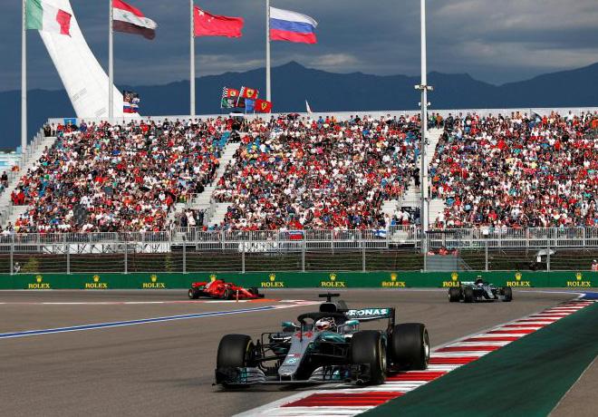 F1 - Rusia 2018 - Carrera - Lewis Hamilton - Mercedes GP