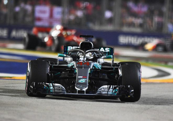 F1 - Singapur 2018 - Carrera - Lewis Hamilton - Mercedes GP
