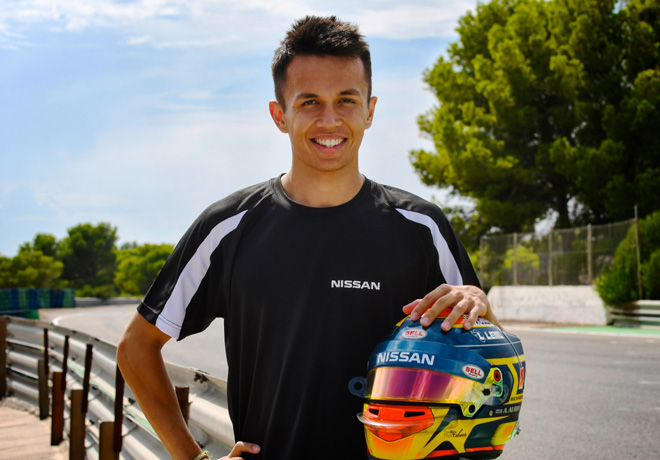 Formula E - Alex Albon - Nissan e-dams