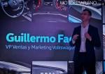 Guillermo Fadda - VP Ventas y Markenting VW Argentina - en la presentacion del Nuevo Vento