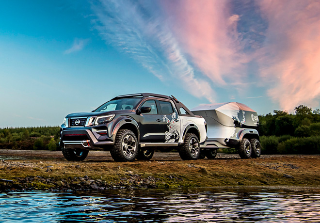Hannover Motor Show 2018 - Nissan Frontier Dark Sky Concept