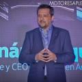 Hernan Vazquez - Presidente y CEO de VW Argentina - en la presentacion del Nuevo Vento