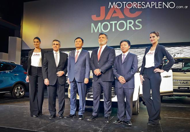 JAC Motors llego a la Argentina