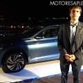 Juan Salaberri - Gerente de Marketing de Shell Lubricantes - en la presentacion del Nuevo VW Vento