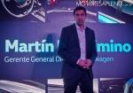 Martin Massimino - Gerente General Division Volkswagen - en la presentacion del Nuevo Vento