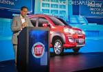 Martin Zuppi - Director General FCA Argentina - en la presentacion del Nuevo Fiat Uno Way