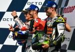 MotoGP - Misano 2018 - Marc Marquez - Andrea Dovizioso - Cal Crutchlow en el Podio
